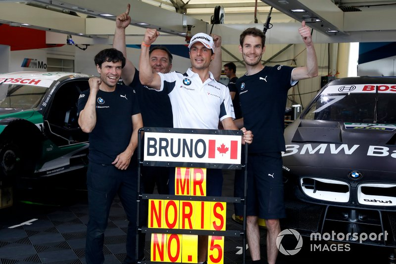 Bruno Spengler, BMW Team RMG con il team