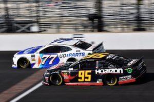 Reed Sorenson, Spire Motorsports, Chevrolet Camaro Go-Parts.com and Matt DiBenedetto, Leavine Family Racing, Toyota Camry Horizon Transport