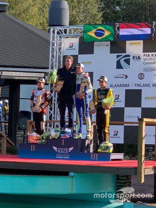 Rafael Câmara, Vice-campeão mundial de kart