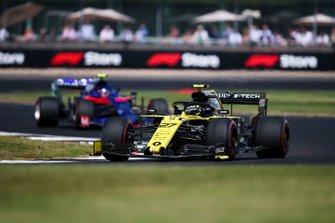 Nico Hulkenberg, Renault F1 Team R.S. 19, Alexander Albon, Toro Rosso STR14