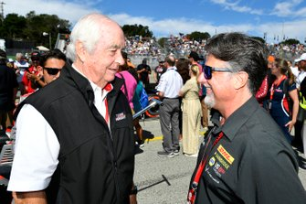 Roger Penske and Michael Andretti