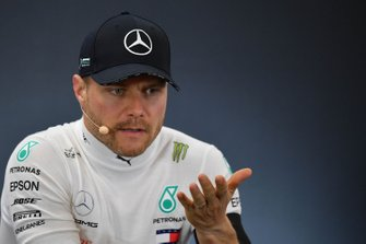 Valtteri Bottas, Mercedes AMG F1, 3rd position, in the Press Conference