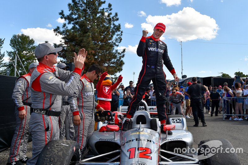 Portland-Will Power-Team Penske