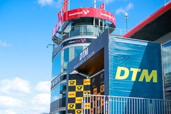 Podio del DTM al Brands Hatch