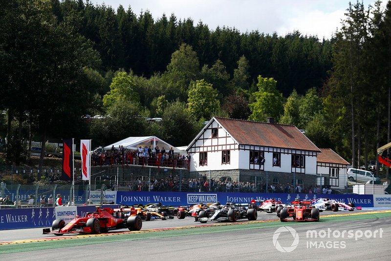 Belgian GP: Charles Leclerc, Ferrari