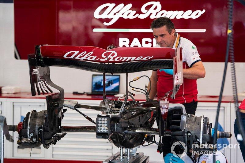 تفاصيل القسم الخلفي لسيارة ألفا روميو سي38