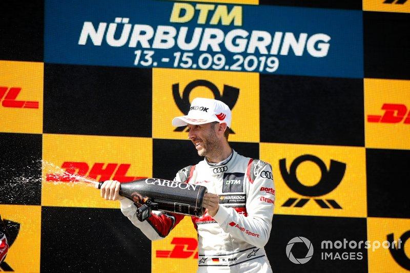 Podyum: René Rast, Audi Sport Team Rosberg