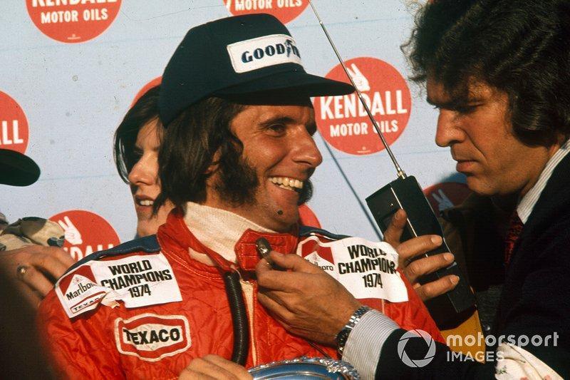 Emerson Fittipaldi zu McLaren (1974)