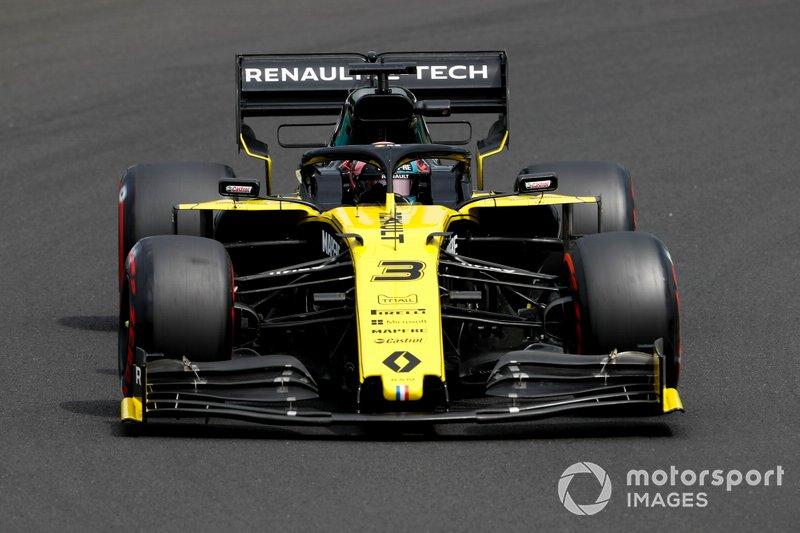 Daniel Ricciardo, Renault F1 Team: 6 puan
