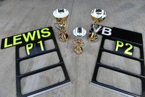 The Mercedes trophy haul