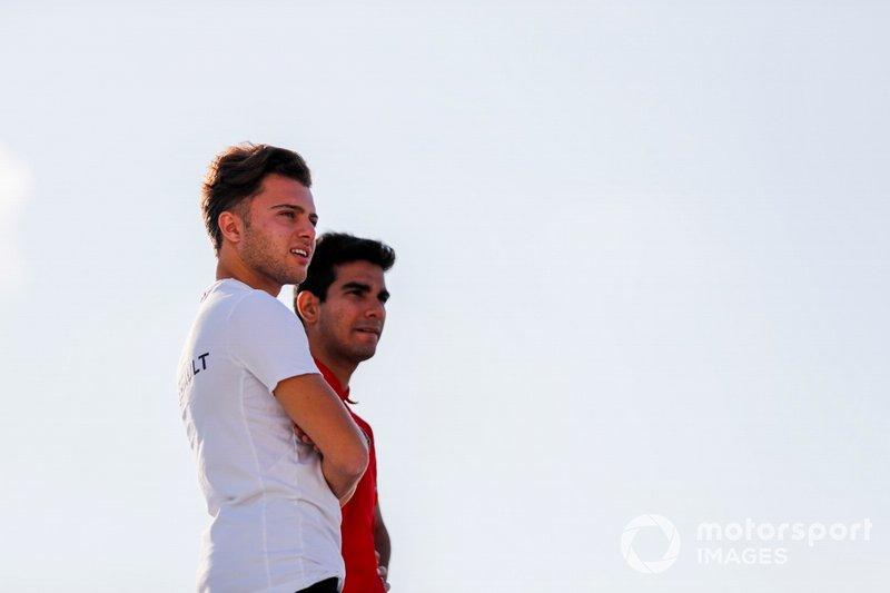 Max Fewtrell, ART Grand Prix and Jehan Daruvala, PREMA Racing