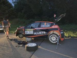 Сход: Алексей Лукьянюк и Алексей Арнаутов, Sainteloc Racing, Citroen C3 R5