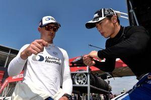 Graham Rahal, Rahal Letterman Lanigan Racing Honda, Takuma Sato, Rahal Letterman Lanigan Racing Honda