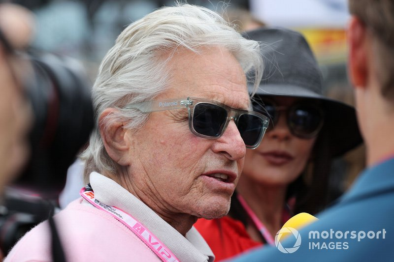 Michael Douglas, actor en la parrilla