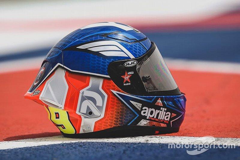 Casque d'Andrea Iannone - Grand Prix des Amériques