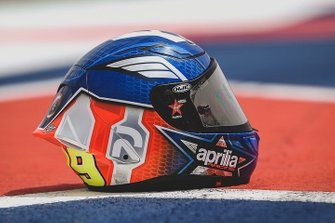 Casco de Andrea Iannone, Aprilia Racing Team