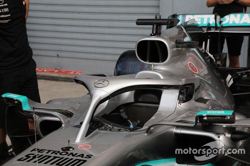 Cockpit da Mercedes