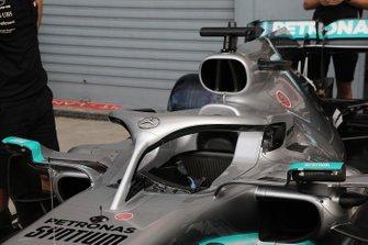 Mercedes AMG F1 W10 cockpit