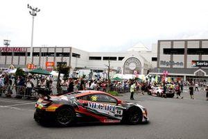 #98 Arrows Racing Honda NSX GT3: Philip Ma, Licka Liu, Jacky Yeung