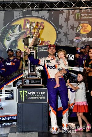 Denny Hamlin, Joe Gibbs Racing, Toyota Camry FedEx Freight wins