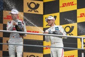 1. René Rast, Audi Sport Team Rosberg, 2. Marco Wittmann, BMW Team RMG