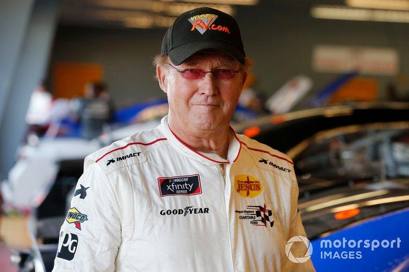Morgan Shepherd, Shepherd Racing Ventures, Chevrolet Camaro Visone RV