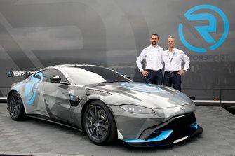 Dr. Florian Kamelger, Dr, Andreas Baenziger, R-Motorsport svela l'Aston Martin Vantage Cup