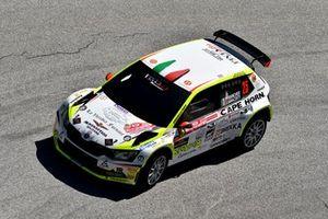 Pierleonardo Bancher, Giandomenico Longo, Skoda Fabia R5, Pintarally Motorsport