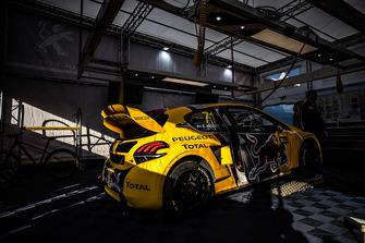 Car of Kevin Hansen, Team Peugeot Total