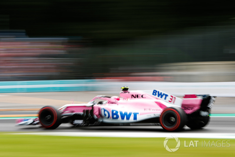 8. Эстебан Окон, Racing Point Force India F1