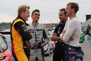 Stian Paulsen, Stian Paulsen Racing Cupra TCR, Mikel Azcona, PCR Sport Cupra TCR, Peter Terting, Autodis Racing by Piro Sports Hyundai i30 N TCR