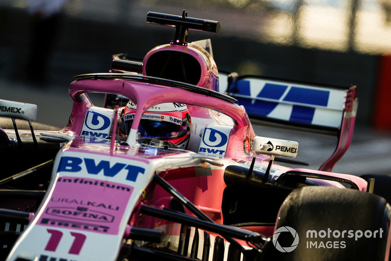 P10: Sergio Perez, Racing Point Force India VJM11
