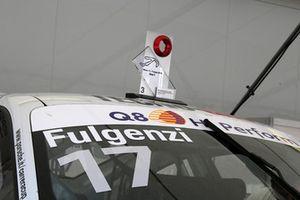 Il trofeo del terzo classificato Enrico Fulgenzi, Ghinzani Arco Motorsport