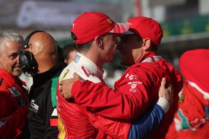 I vincitori GT Pro #51 AF Corse Ferrari 488 GTE EVO: Alessandro Pier Guidi, James Calado