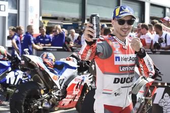 Le poleman Jorge Lorenzo, Ducati Team