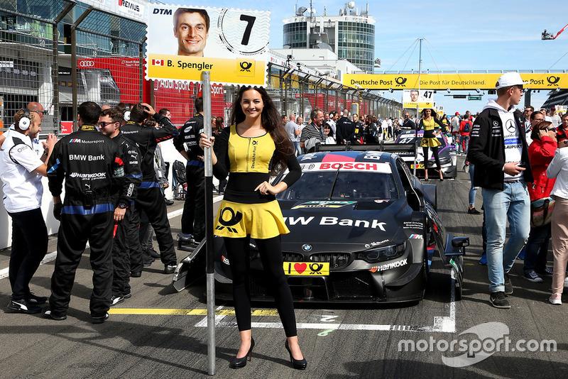 Chica de la parrilla de Bruno Spengler, BMW Team RBM
