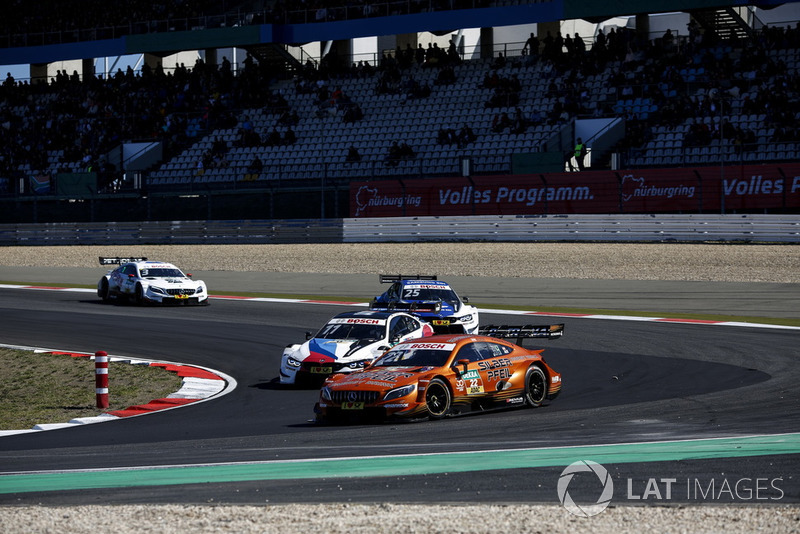 DNF Lucas Auer, Mercedes-AMG Team HWA, Mercedes-AMG C63 DTM