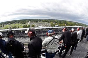 NASCAR-Spotter in Indianapolis