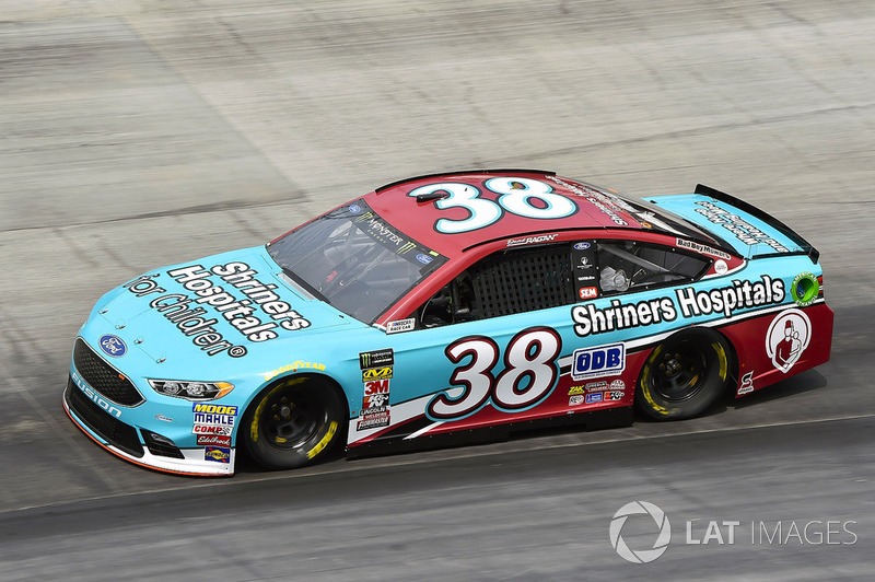 15. David Ragan, Front Row Motorsports, Ford Fusion Shriners Hospital For Children