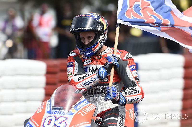 MotoGP Ceko: Andrea Dovizioso, Ducati Team