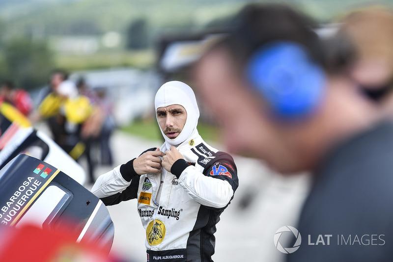 #5 Action Express Racing Cadillac DPi, P - Filipe Albuquerque