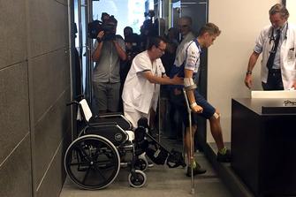 Tito Rabat, Avintia Racing, in ospedale