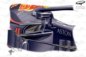 Red Bull RB14 mirrors