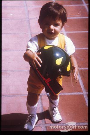 Christian Fittipaldi na infância