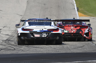#25 BMW Team RLL BMW M8, GTLM - Alexander Sims, Connor de Phillippi, #93 Michael Shank Racing with Curb-Agajanian Acura NSX, GTD - Lawson Aschenbach, Justin Marks