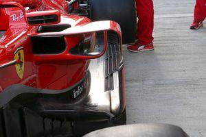 Ferrari SF71H, dettaglio laterale