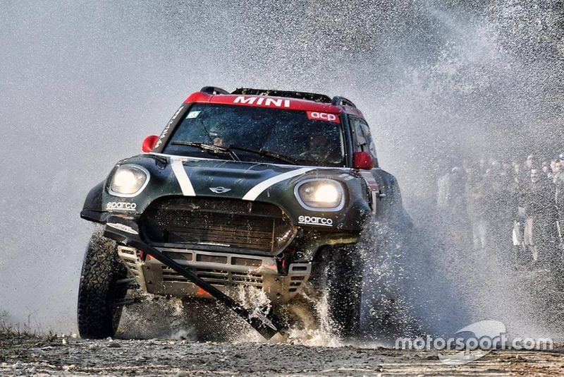 Nani Roma, Alex Haro, MINI X-Raid John Cooper Works Rally