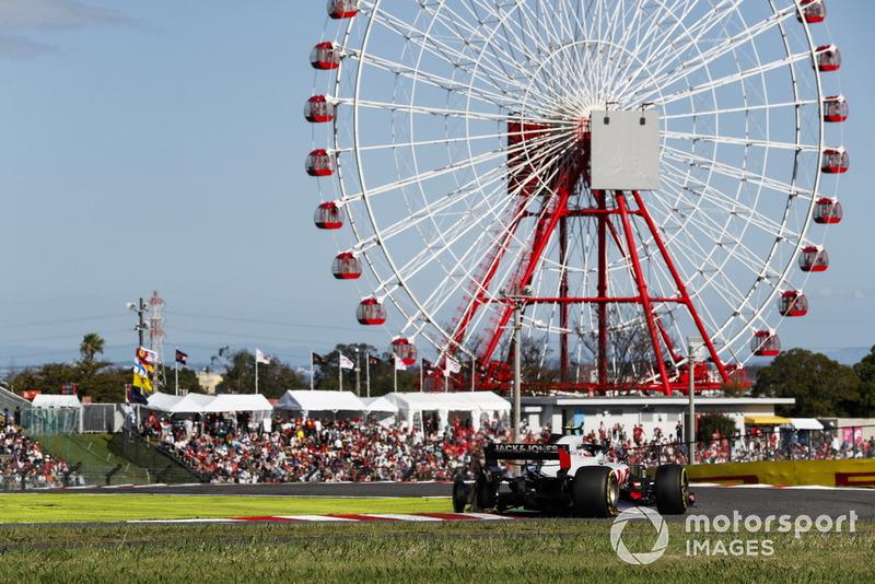 Ausfall: Kevin Magnussen, Haas F1 Team VF-18
