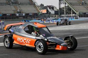Benito Guerra driving the ROC Car