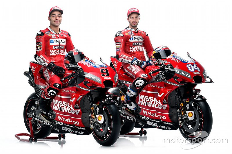 Данило Петруччи и Андреа Довициозо, Mission Winnow Ducati Team